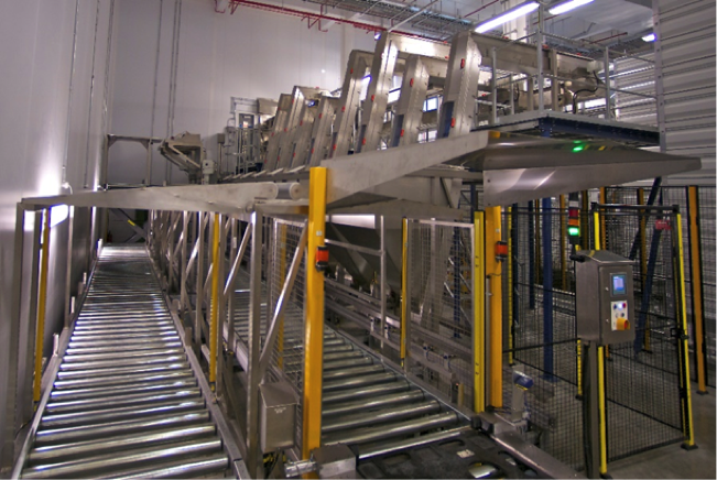 Roller Conveyor for Cap handling