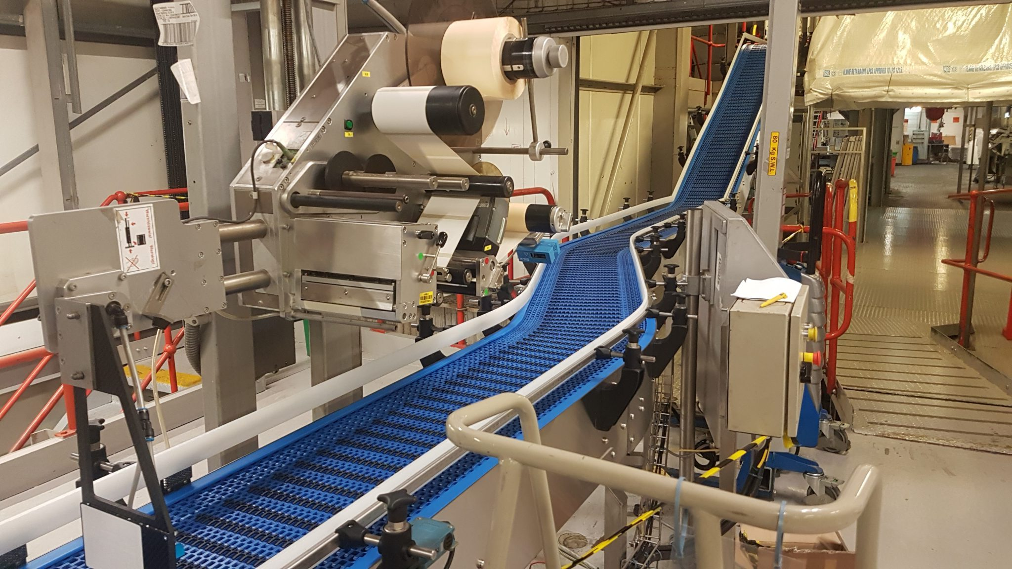 Modular Conveyor for large pet food manufacturer