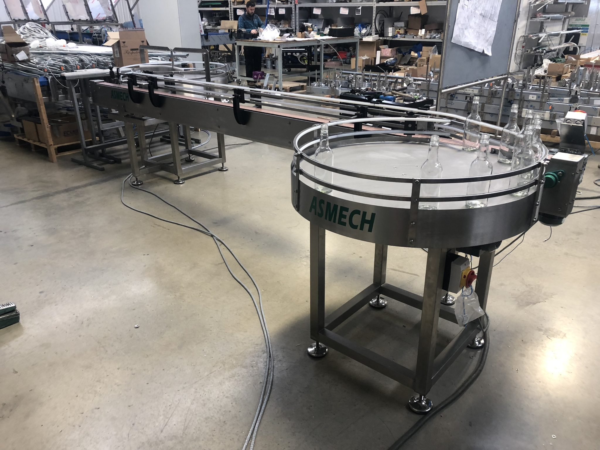 Rotary Table supplied by Asmech Systems