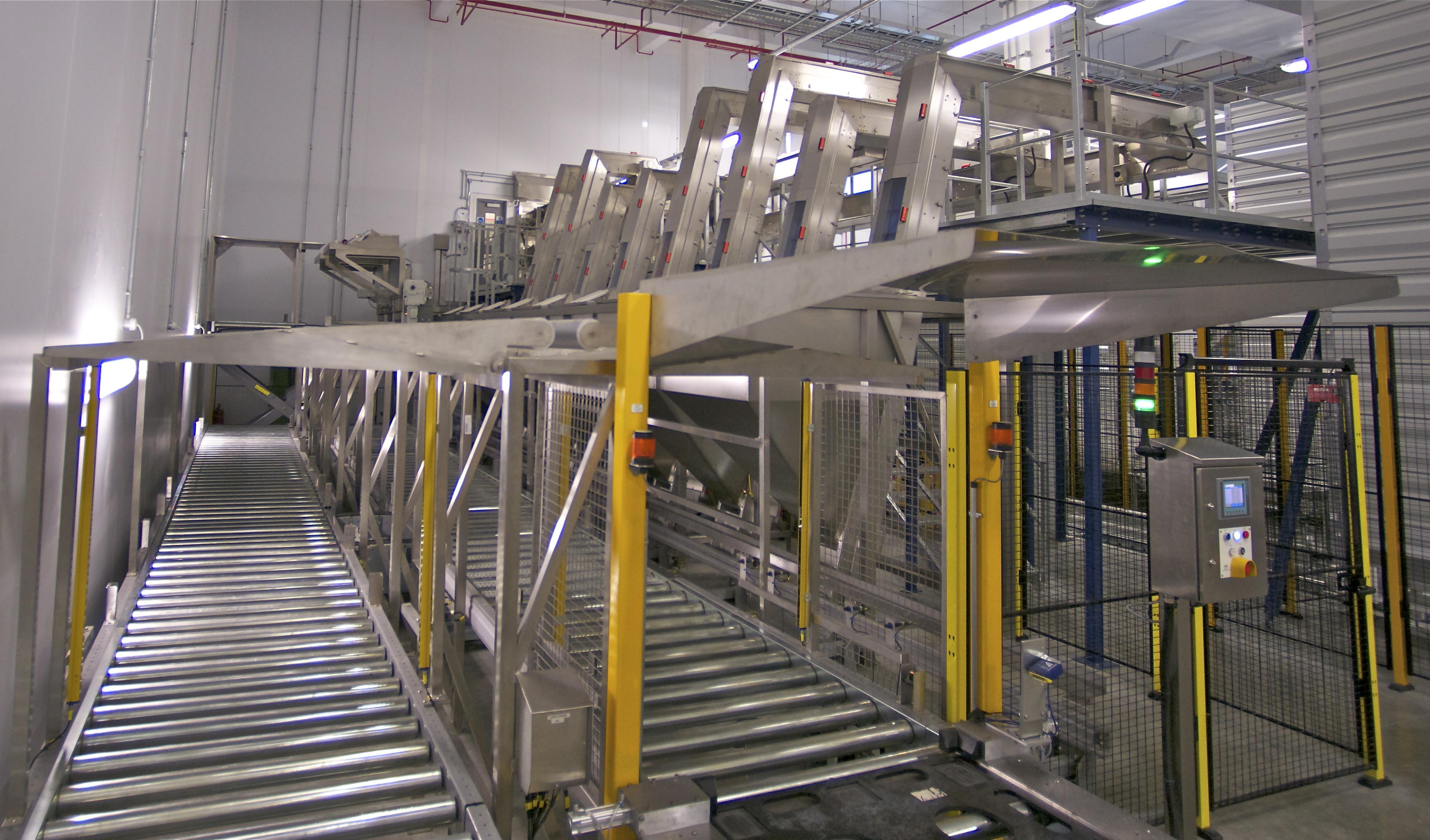bespoke design of conveyors